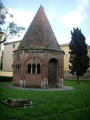 Diotisalvi - Image: Cappella di sant'agata 01