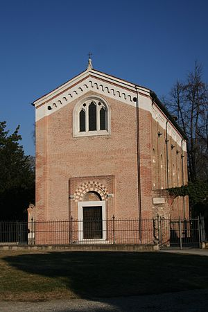 A photograph taken of the Cappella degli Scrov...