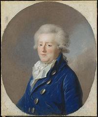 Carel Georg August (1766-1807), erfprins van Braunschweig-Wolfenbüttel. Echtgenoot van Frederica Louisa Wilhelmina (Louise), prinses van Oranje-Nassau