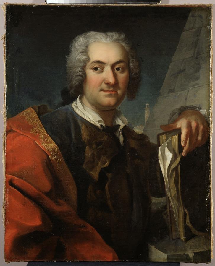 Portrait of Carl Hårleman, 1700-1753