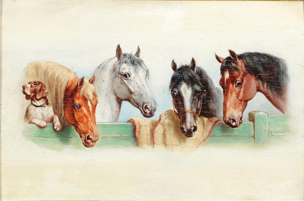 час картинки для декупажа лошади и охота вас вашей компании