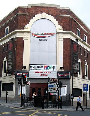 O2 Academy Newcastle - The venue during its time as the Carling Academy from 2005 until 2008.