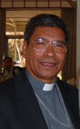 History of East Timor - Bishop Carlos Belo, winner of the 1996 Nobel Peace Prize.