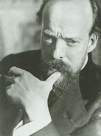 Carlos Schwabe - Carlos Schwabe selfportrait, circa 1900