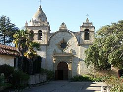 Carmel Mission - Entrance.JPG