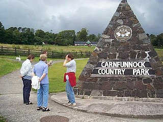 Carnfunnock Country Park Public park in County Antrim, Northern Ireland