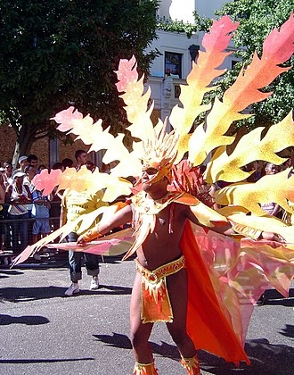 Notting Hill Carnival - Image: Carnival costume