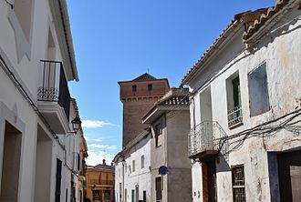 Benavites - Image: Carrer i torre de Benavites