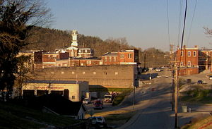 Carthage, Tennessee - The Carthage business district