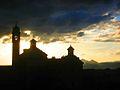 Cartuja de Granada al atardecer.jpg