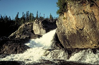Pukaskwa National Park - Cascade River Falls