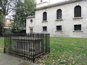 St Luke Old Street - William Caslon's grave