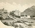 Castello di Luna, Monastero delle Giummare e monte Cronio.jpg
