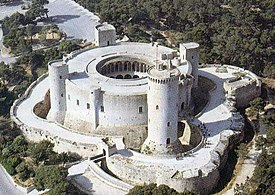 Vista aèria del castell