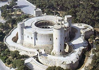 Palma de Mallorca - Bellver Castle, was the first circle castle in Europe.