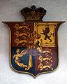 Castle Hedingham, St Nicholas' Church, Essex England, Royal Arms.jpg