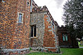 Castle Hedingham, St Nicholas' Church, Essex England - tower, south aisle and south porch.jpg