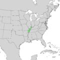 Catalpa speciosa range map 1.png