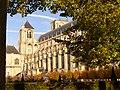 Cathédrale de Bourges - Vue des jardins de l'Archevêché.JPG