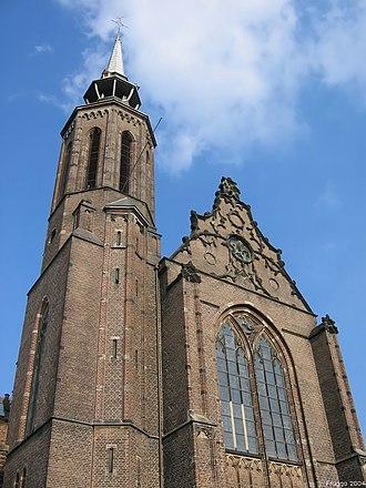 St Catherine's Cathedral, Utrecht - Image: Catharijnekerk Utrecht