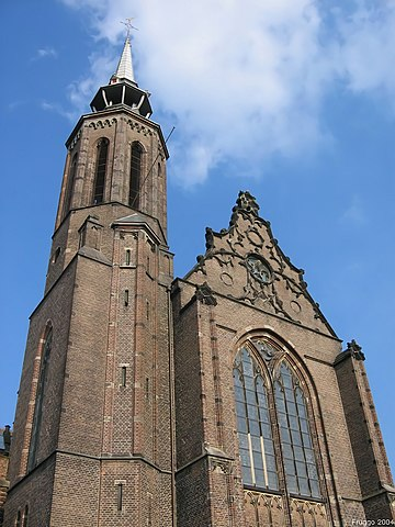 St. Catharine's Church in Utrecht (the Netherlands). Picture taken by Fruggo, September 2004.