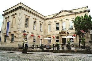 Old Library, Bristol - The Bristol old library in 2017, which has been running as Chinese restaurant, Cathay Rendezvous, since 1986.