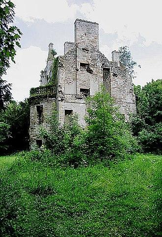 Cavers, Scottish Borders - Ruins of Cavers House