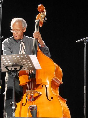 Cecil McBee - Cecil McBee, The Cookers at Nice 2016