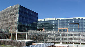 Suitland, Maryland - The headquarters of the United States Census Bureau, in March 2007.