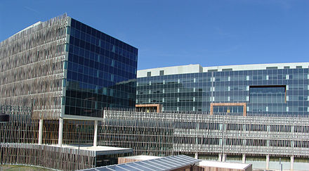 Census headquarters in Suitland, Maryland