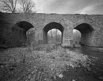 Center Valley, Pennsylvania - Centennial Bridge, March 1996