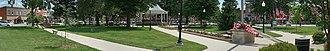 Fairfield, Iowa - Image: Central Park, Fairfield, Iowa
