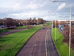 Central Way i Craigavon