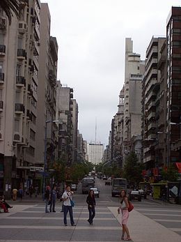 A view of downtown Montevideo