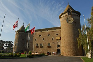 castle in Morges (Switzerland)