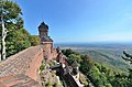 Château du Haut-Kœnigsbourg (Bas-Rhin) - Vue depuis le grand bastion.jpg