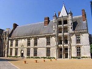 Château de Châteaudun - The Longueville wing of the château of Châteaudun.