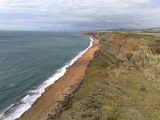 Chale Bay - Chale Bay looking to the north west