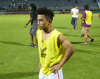 Chanathip Songkrasin - Chanathip with BEC Tero Sasana in 2015.