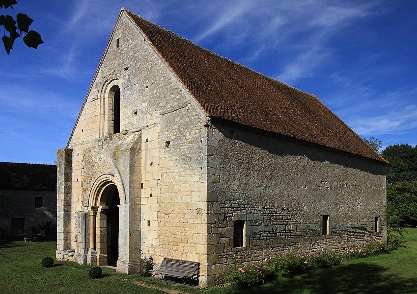 Chapelle de la commanderie des Templiers de Villemoison datée du 12ème siècle, située dans le département de la Nièvre.