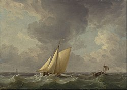 Charles Brooking: A Cutter in a Strong Breeze