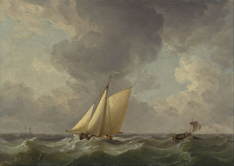 File:Charles Brooking - A Cutter in a Strong Breeze - Google Art Project.jpg