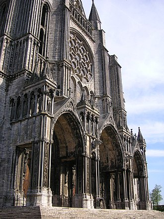 Porch - Chartres Cathedral south facade