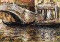 Chase William Merritt Gondolas Along Venetian Canal 1913.jpg