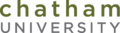 Chatham University text logo.png