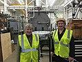 Checking on the progress at MSU's Facility for Rare Isotope Beams (FRIB). (24139875159).jpg