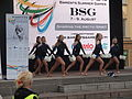 Cheerleaders at the Barents Summer Games 2015 opening ceremony in Oulu.jpg