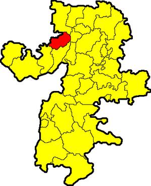 Kusinsky District - Image: Chelyabinskaya oblast Kusinsky rayon