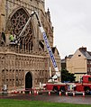 Cherry picker, Exeter Cathedral - geograph.org.uk - 918244.jpg