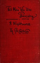G. K. Chesterton: English: The Man Who Was Thursday: A NightmareFrançais : Le Nommé Jeudi. Un cauchemar